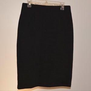 Coldwater Creek, 8, Black Pencil Skirt